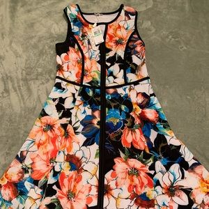 Bright color A-Line dress 💕